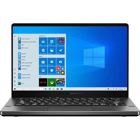 Laptop Asus ROG Zephyrus G14 GA401IV-HE159T 14 inch FHD AMD Ryzen 9 4900HS 16GB DDR4 512GB SSD nVidia GeForce RTX 2060 6GB Windows 10 Home Gray