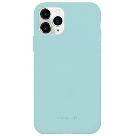 Husa Protectie Spate Hana Molan Soft pentru Huawei P40 Lite Turcoaz