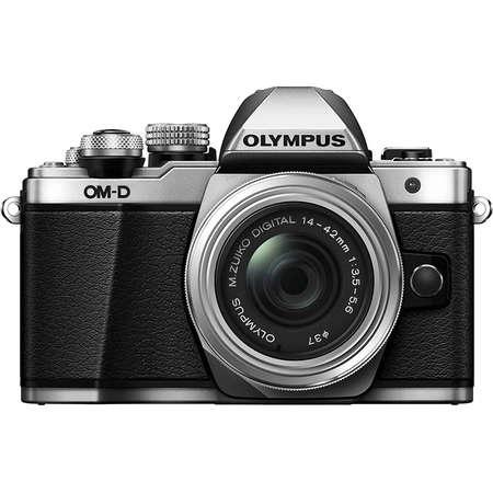 Aparat foto Mirrorless Olympus E-M10 Mark III 16.1 Mpx Silver Kit EZ-M1442 IIR Silver