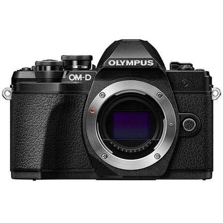 Aparat foto Mirrorless Olympus E-M10 Mark III 16.1 Mpx Black Kit M.ZUIKO DIGITAL ED 12-200mm F3.5-6.3 Black