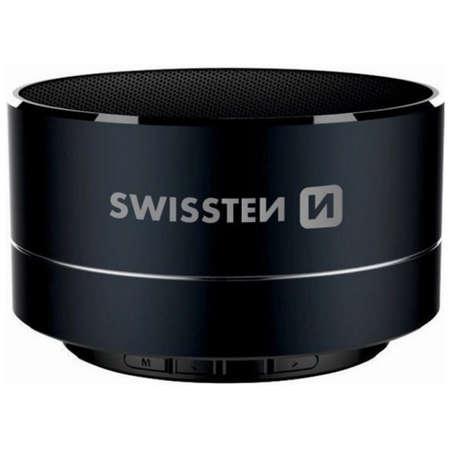 Boxa portabila Swissten i-Metal Bluetooth 3W Negru