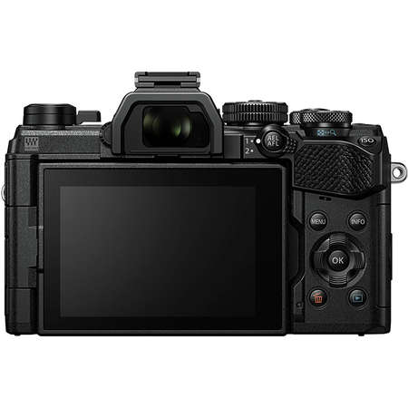 Aparat foto Mirrorless Olympus E-M5 Mark III 20.4 Mpx Black Kit M.ZUIKO DIGITAL ED 12-200mm F3.5-6.3 Black