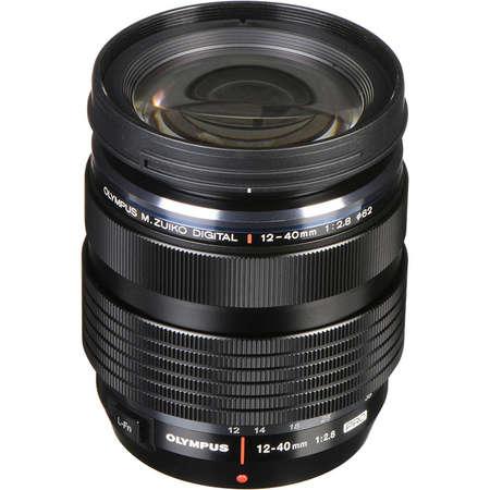 Aparat foto Mirrorless Olympus E-M5 Mark III 20.4 Mpx Black Kit 12-40mm F2.8 PRO Black