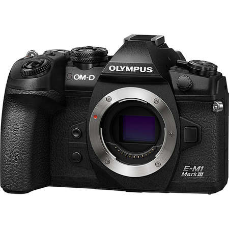 Aparat foto Mirrorless Olympus E-M1 Mark III 20.4 Mpx Black Body