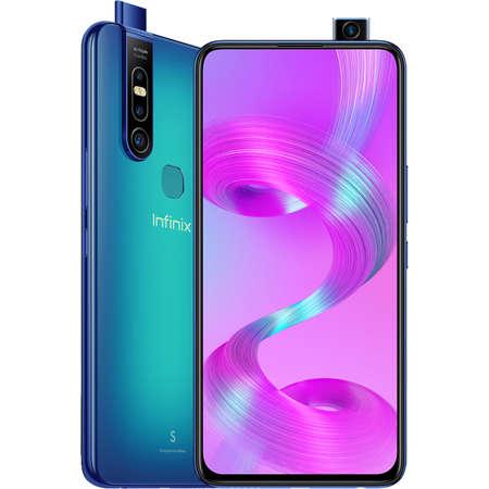 Telefon mobil INFINIX S5 Pro 128GB 6GB RAM Dual Sim 4G Blue