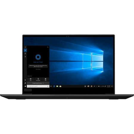 Laptop Lenovo ThinkPad P1 2nd Gen 15.6 inch FHD Intel Core i9-9880H 16GB DDR4 1TB SSD nVidia Quadro T2000 4GB FPR Windows 10 Pro Black