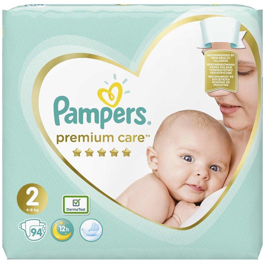 Scutece Premium Care 2 Jumbo Pack 94 buc