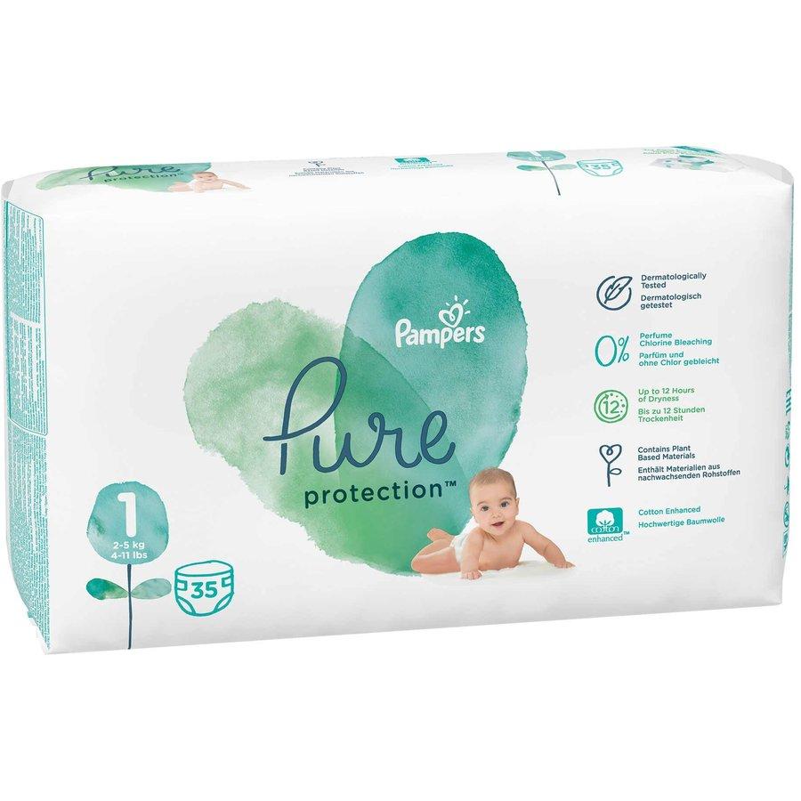 Scutece Pure 1 Carry Pack 35 buc