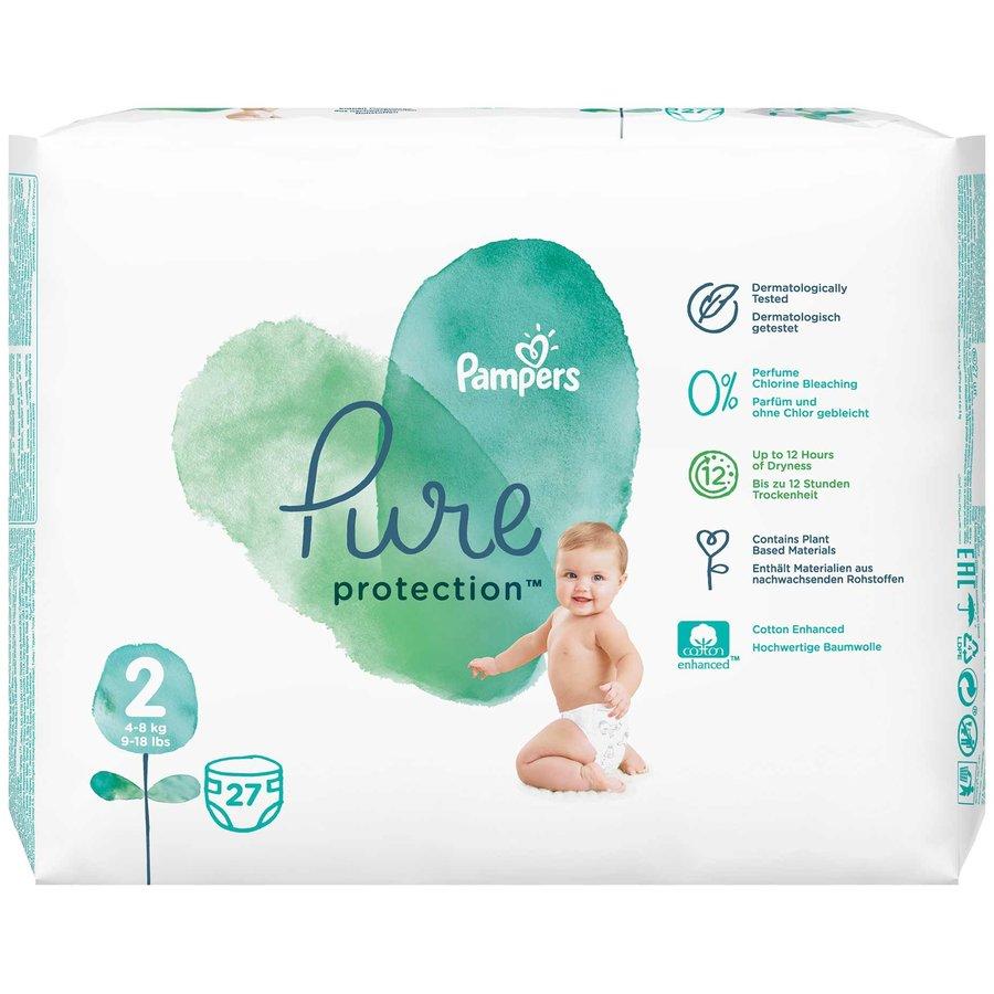 Scutece Pure 2 Carry Pack 27 buc