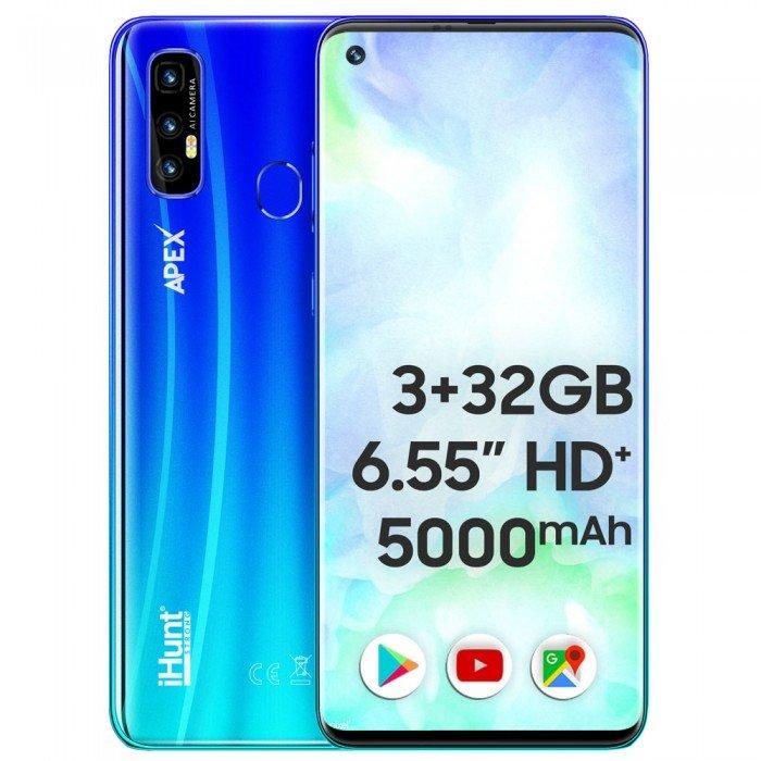 Telefon mobil S20 Ultra Apex 32GB 3GB RAM Dual SIM 4G Blue