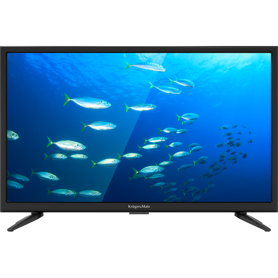Televizor LED Non Smart TV KM0222FHD-F12 55cm Full HD Black