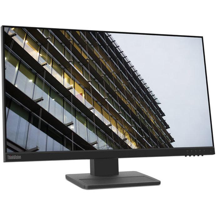 Monitor Led Thinkvision E24-20 23.8 Inch Fhd Ips 14ms Black