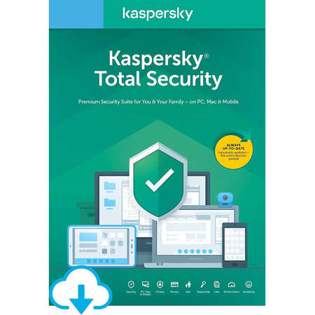 Antivirus Kaspersky Total Security 2020 5 Dispozitive 1 An Licenta de reinnoire Electronica