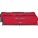 Memorie Crucial Ballistix 16GB (2x8GB) DDR4 3000MHz CL15 Red Dual Channel Kit