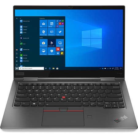 Laptop Lenovo ThinkPad X1 Yoga Gen 5 14 inch FHD Intel Core i7-10510U 16GB DDR3 512GB SSD Intel UHD Graphics Windows 10 Pro Iron Grey