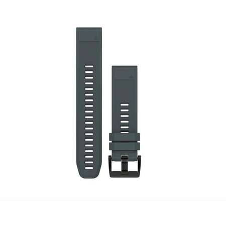 Curea smartwatch Quickfit 22 mm Silicon Granite Blue pentru Garmin Fenix 5