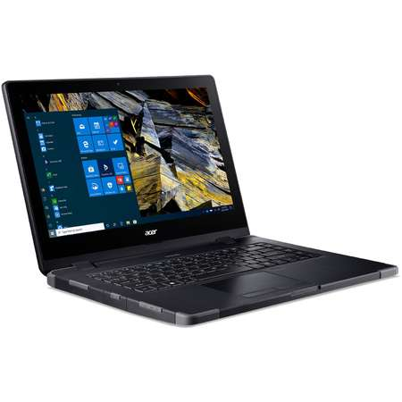 Laptop Acer Enduro EN314-51W 14 inch FHD Intel Core i5-10210U 8GB DDR4 512GB SSD Intel UHD Graphics Windows 10 Pro Shale Black