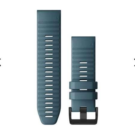 Curea smartwatch QuickFit 26mm Silicon Lakeside Blue pentru Garmin Fenix 6X