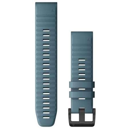 Curea smartwatch QuickFit 22mm Silicon Lakeside Blue pentru Garmin Fenix 6