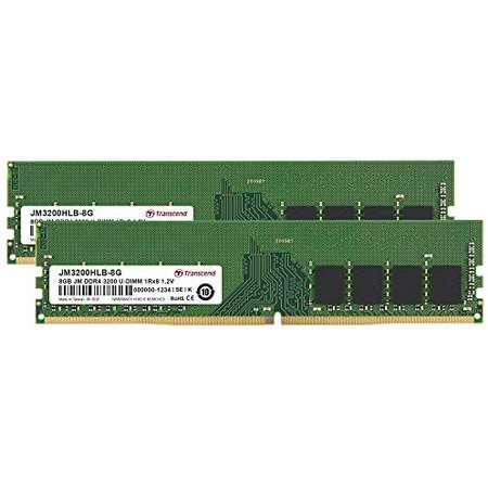 Memorie server Transcend JetRam 16GB (2x8GB) DDR4 3200MHz CL22 1.2V 1Rx8 1Gx8 Dual Channel Kit