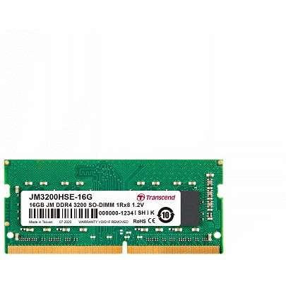 Memorie laptop Transcend JetRam 32GB (1x32GB) DDR4 3200MHz CL22 1.2V 2Rx8 2Gx8