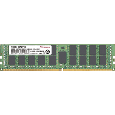 Memorie server Transcend 16GB (1x16GB) DDR4 2133MHz CL15 1.2V 2Rx8
