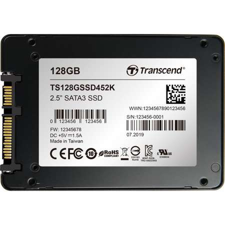 SSD Transcend 452K 128GB SATA-III 2.5 inch
