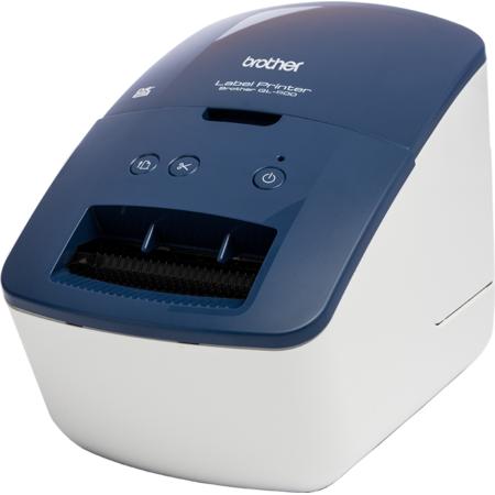 Imprimanta de etichete Brother QL-600B USB 300 dpi White Blue