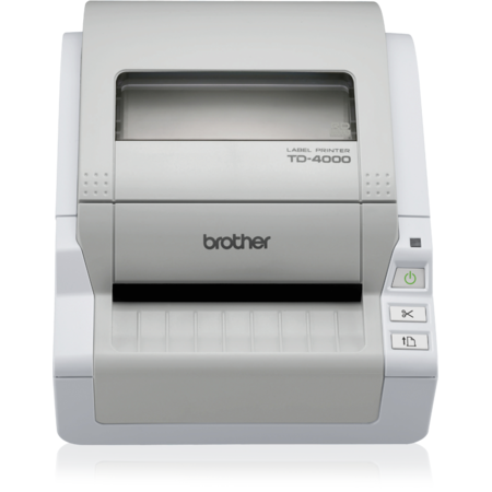Imprimanta de etichete Brother TD-4000 USB White