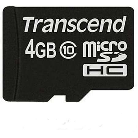 Card de memorie Transcend Premium 4GB MicroSDHC Clasa 10 UHS-I