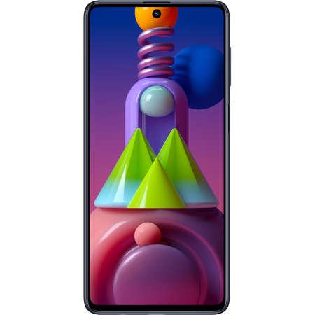 Telefon mobil Samsung Galaxy M51 Dual Sim LTE 6.7 inch Octa Core 6GB 128GB Capacitate Baterie 7000mAh Black
