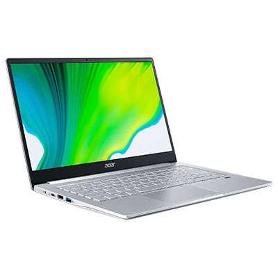 Laptop Acer Swift 3 SF314-42 14 inch FHD AMD Ryzen 5 4500U 8GB DDR4 512GB SSD FPR Linux Silver