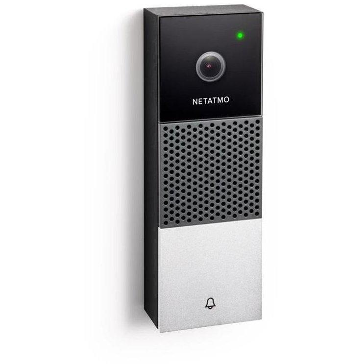 Sonerie usa Smart Video Doorbell Full HD Weatherproof LED infrarosu WiFi Negru/Argintiu