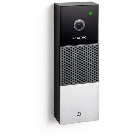 Sonerie usa Netatmo Smart Video Doorbell Full HD Weatherproof LED infrarosu WiFi Negru/Argintiu