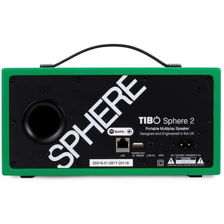 Boxa portabila TIBO Sphere2 Bluetooth Wi-Fi Green