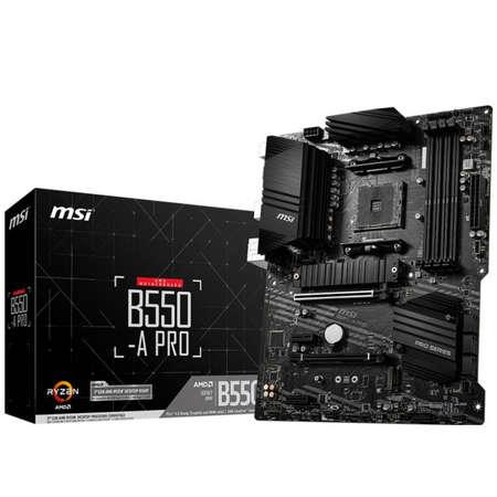 Placa de baza MSI B550-A PRO AMD AM4 ATX