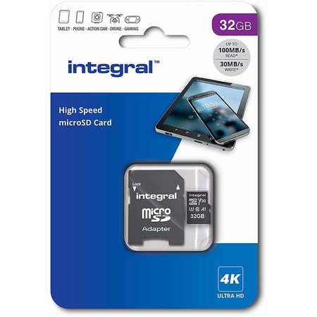 Card Integral microSDHC 32GB UHS-I U3 V30