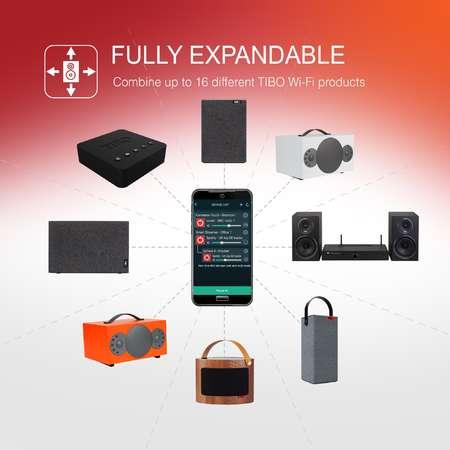 Amplificator stereo TIBO SIA75 Wi-Fi  2x 75W Black
