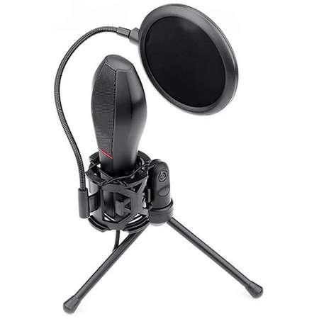 Microfon Redragon Quasar Negru cu stand