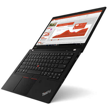 Laptop Lenovo ThinkPad T14 Gen 1 14 inch FHD Intel Core i7-10510U 16GB DDR4 512GB SSD 4G Windows 10 Pro Black