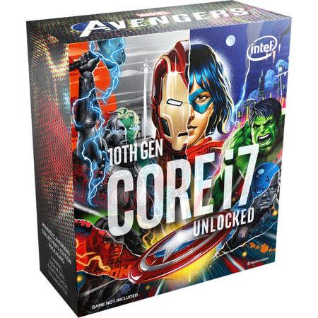 Procesor Intel Core i7-10700K 3.8GHz Box Avengers Edition