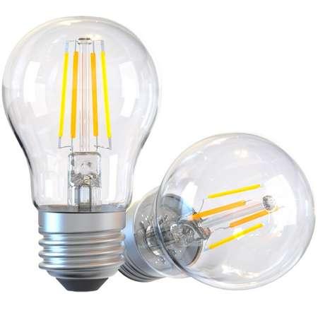 Bec WiFi Filament Tellur E27 6W clar lumina alba/calda reglabil