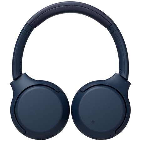 Casti Wireless Sony WH-XB700 Blue