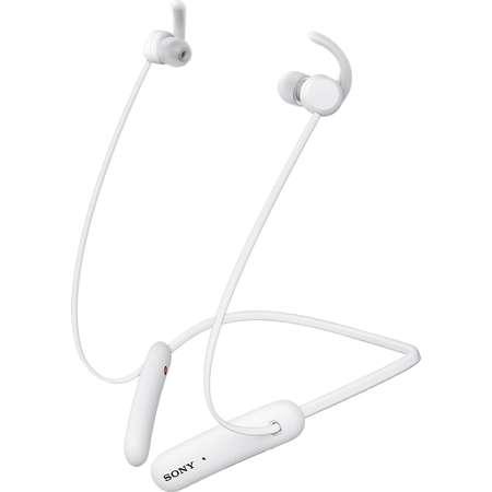 Casti Bluetooth Sony WI-SP510 White