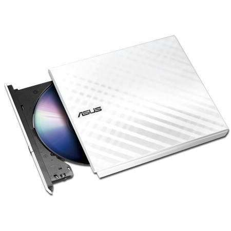Unitate optica externa ASUS SDRW-08D2S-U DVD-RW USB 2.0 White