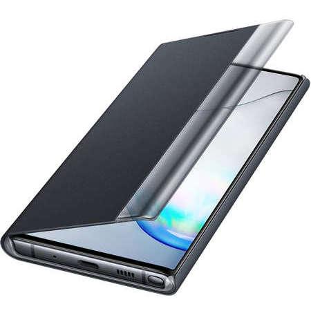 Husa Flip Cover Resigilata Book Clear View Samsung Galaxy Note 10 Black