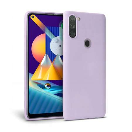 Carcasa TECH-PROTECT Icon Samsung Galaxy M11 / Galaxy A11 Violet