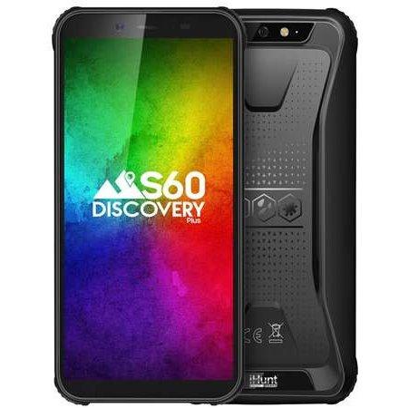 Telefon mobil Resigilat S60 Discovery Plus 16GB 3GB RAM IP68 NFC Dual Sim 4G Black (Android 9)