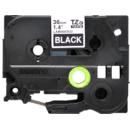 Banda de etichete TZE-365 36mm 8m pentru imprimante Brother P-touch TZ / TZe Alb pe Negru