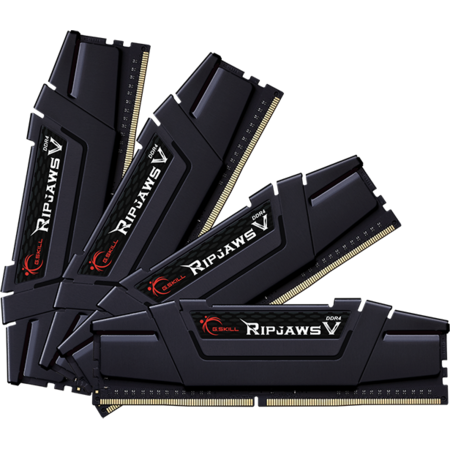 Memorie GSKill RipJawsV 128GB (4x32GB) DDR4 4000MHz CL18 Quad Channel Kit